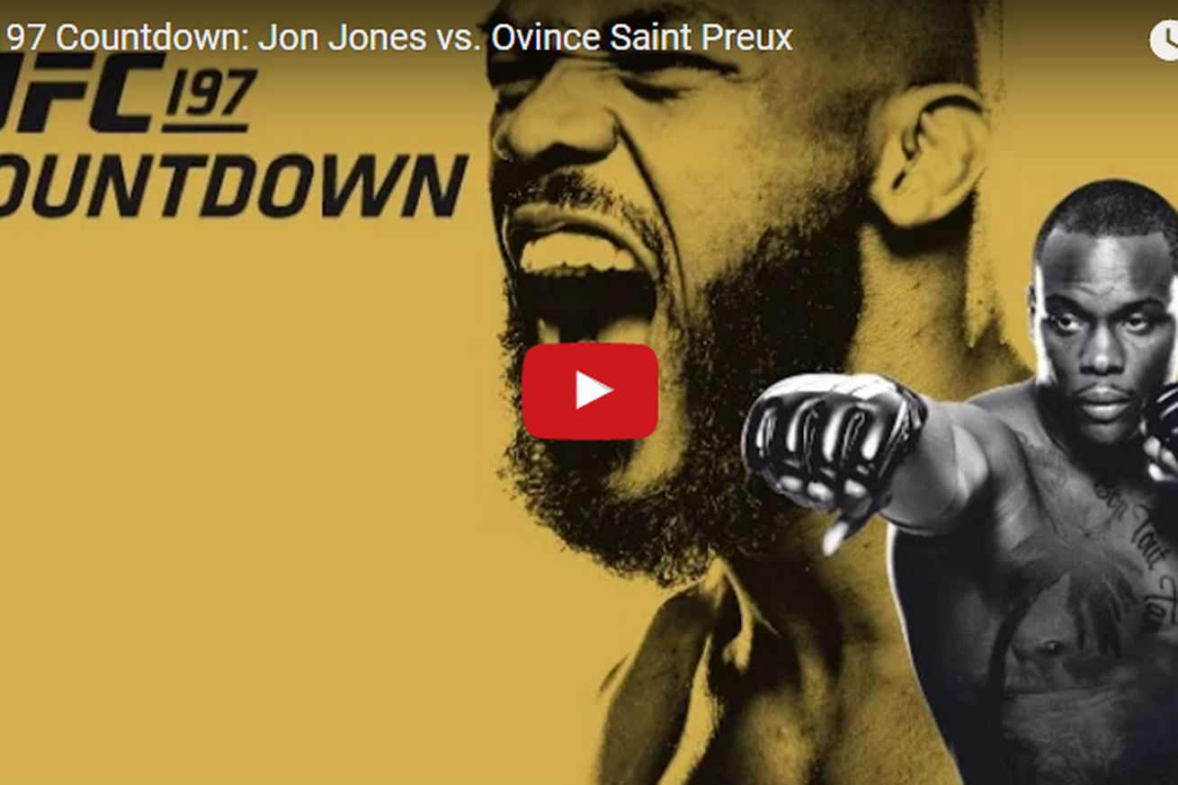 Replay! Watch Countdown to UFC 197: Jones vs Saint Preux for April 23 PPV in Las Vegas