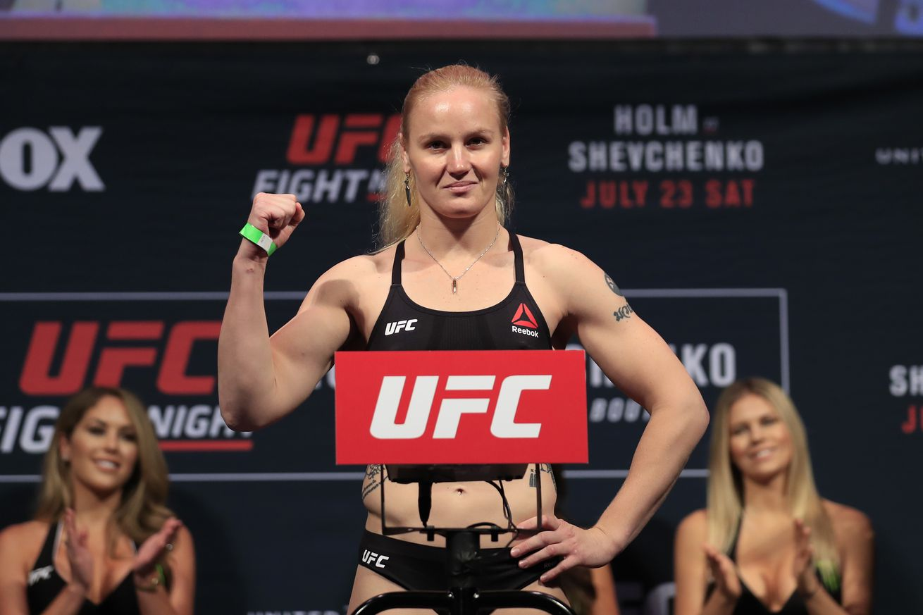 community news, Live UFC on FOX 23 weigh in video results for Shevchenko vs Pena' in Denver
