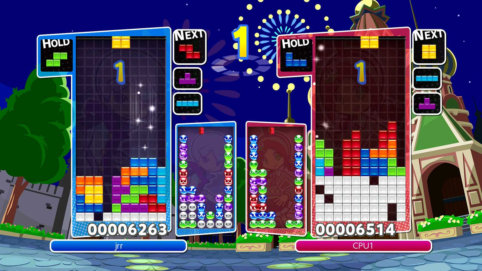 Puyo Puyo Tetris and the joy of small games on Switch