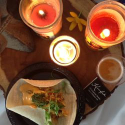 The judges awarded Kingfish's redfish second place in the Top Creative Taco category.