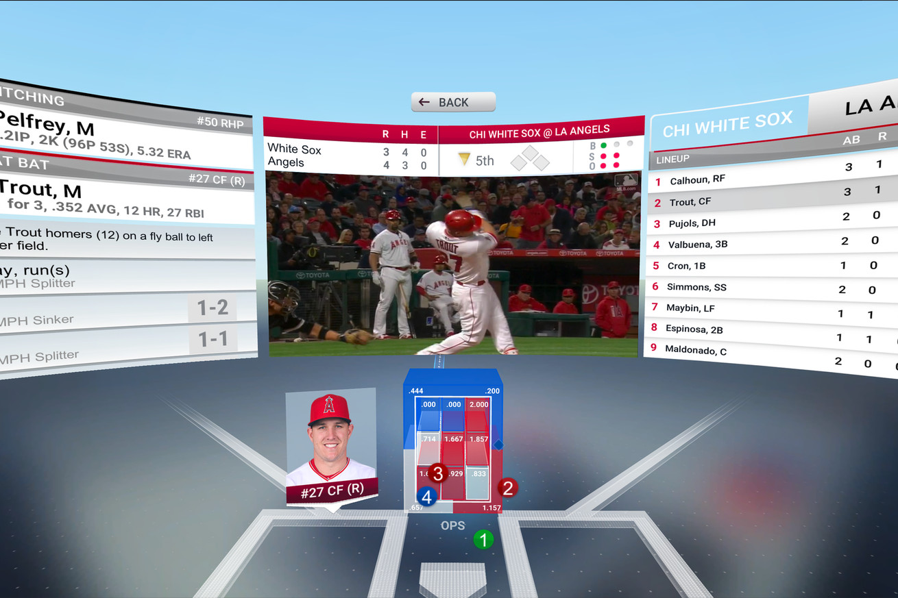 MLB brings its popular At Bat app to VR