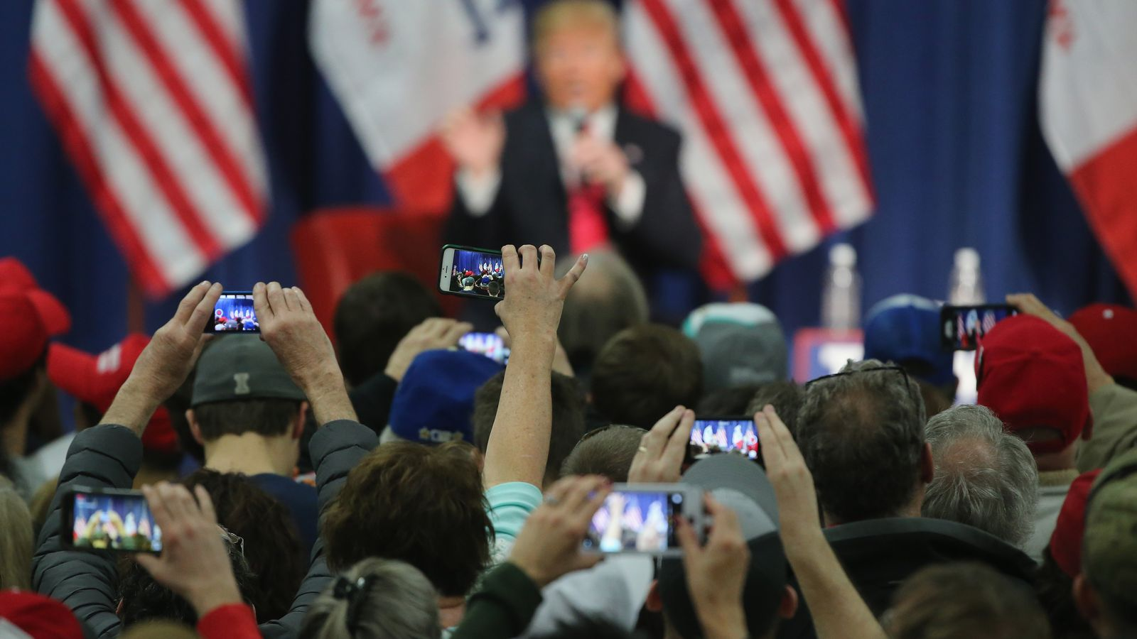 Donald Trump has surrendered his Android phone