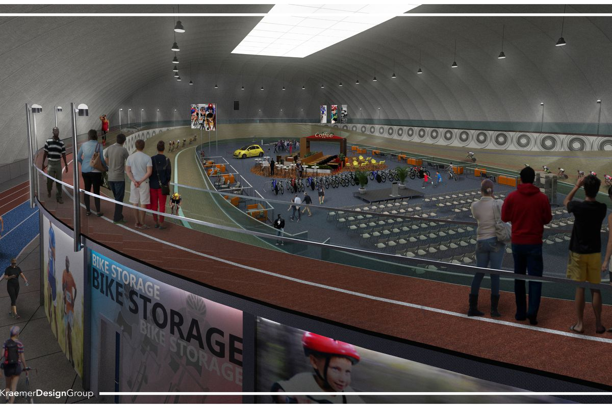 Lexus Of Atlanta >> An indoor multi-sport complex with velodrome is coming to ...