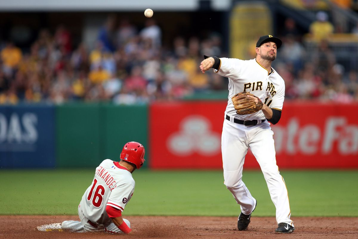Pirates Edge Phillies 1-0 In Rain After Freese HBP