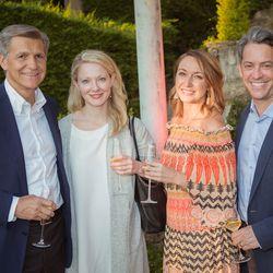 From left, Marc Pritchard (Procter & Gamble), Liz Milonopoulos (Goldman Sachs), Lindsay Nelson (CMO, Vox Media), Jim Bankoff (Chairman & CEO, Vox Media)