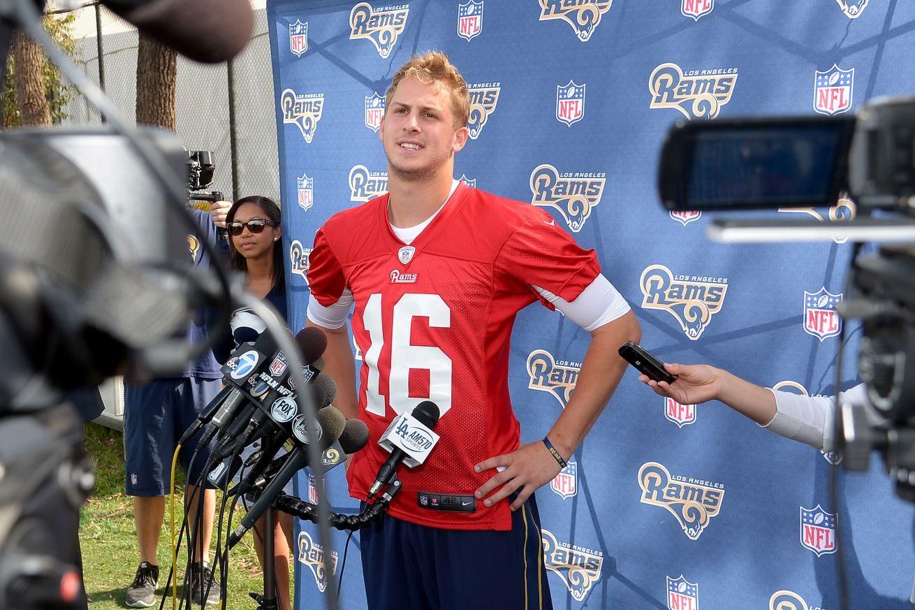 NFL Jerseys NFL - Pro Football Focus Grades the Los Angeles Rams Offseason - Turf ...