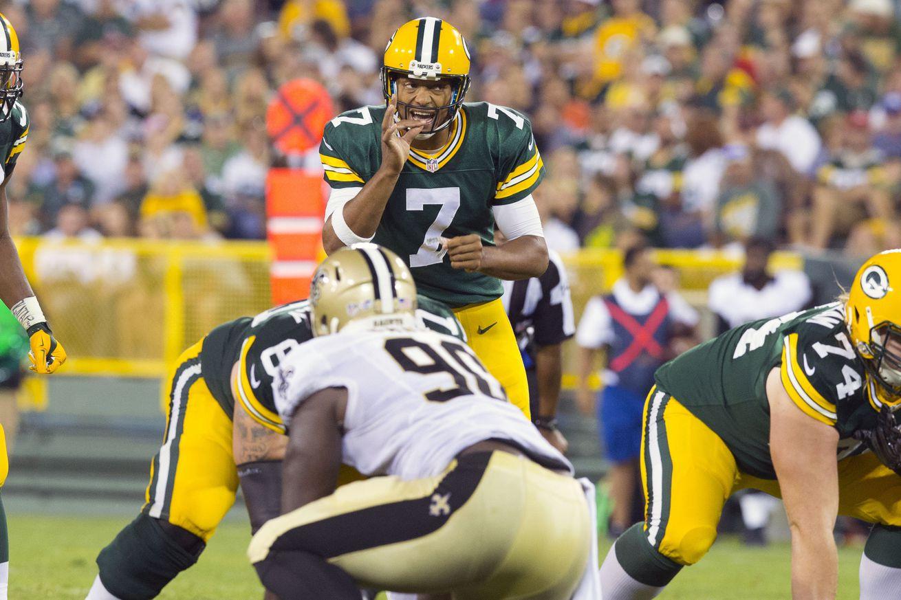 NFL Jerseys NFL - Packers vs. Saints Final Score: Hundley tosses 4 touchdowns in 38 ...
