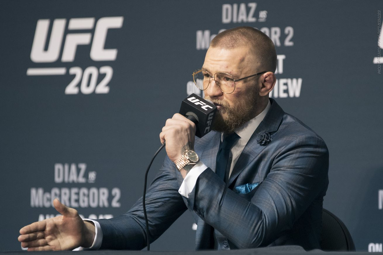 community news, Conor McGregor: 'Every single fighter doubted me    doubt me now