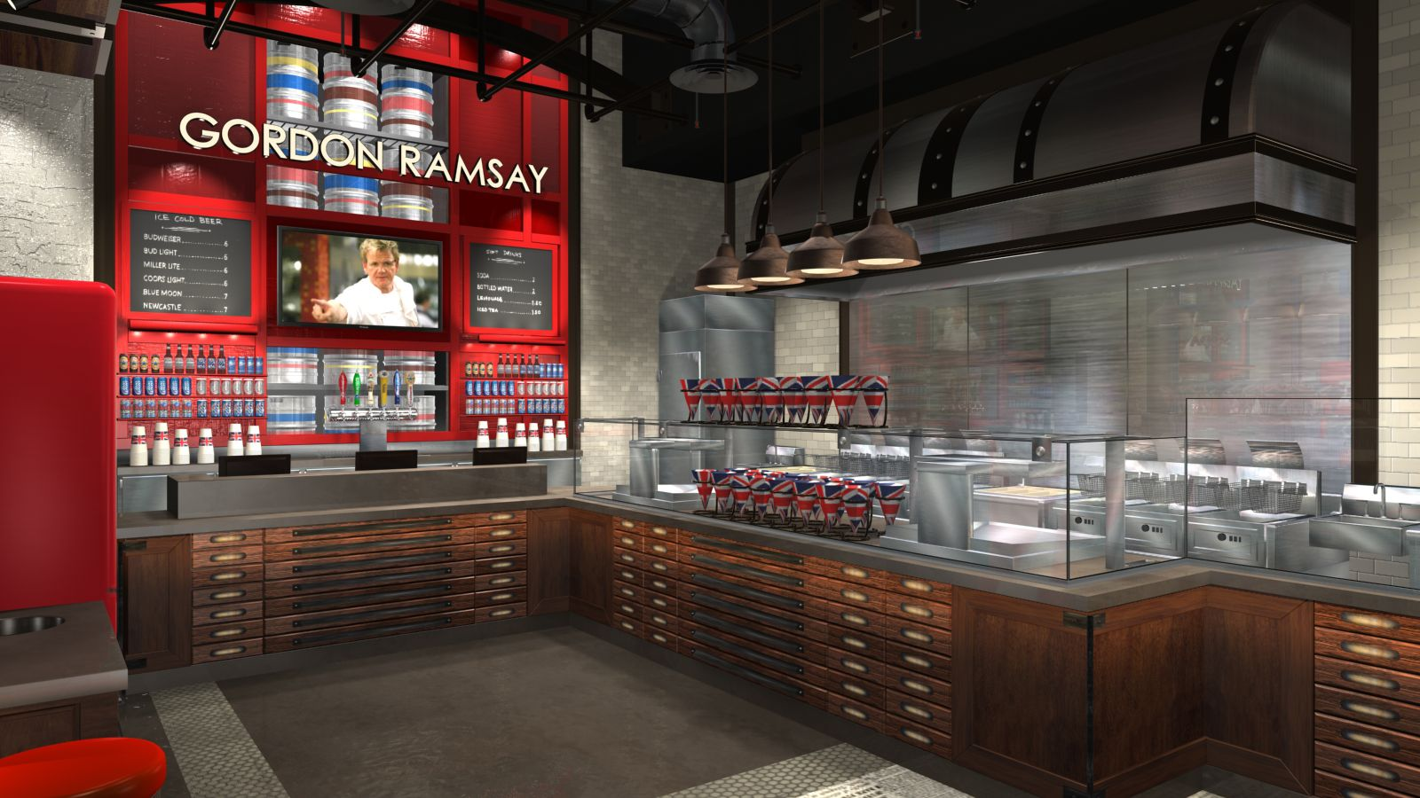 Confirmed: Gordon Ramsay's Fish & Chips to The Linq - Eater Vegas