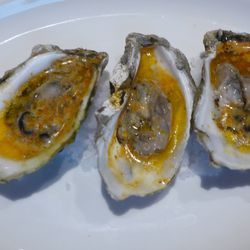 Chipotle butter oysters