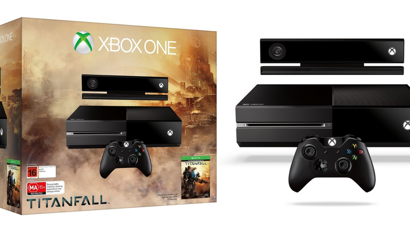 Titanfall Xbox One console bundle coming March 11, brings ...