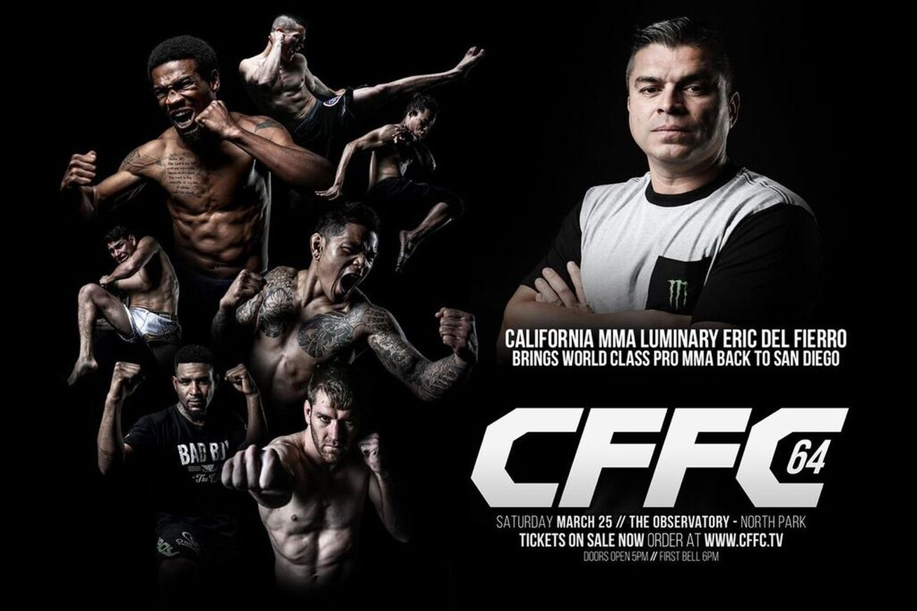 Eric Del Fierro getting back into promotional waters with CFFC 64