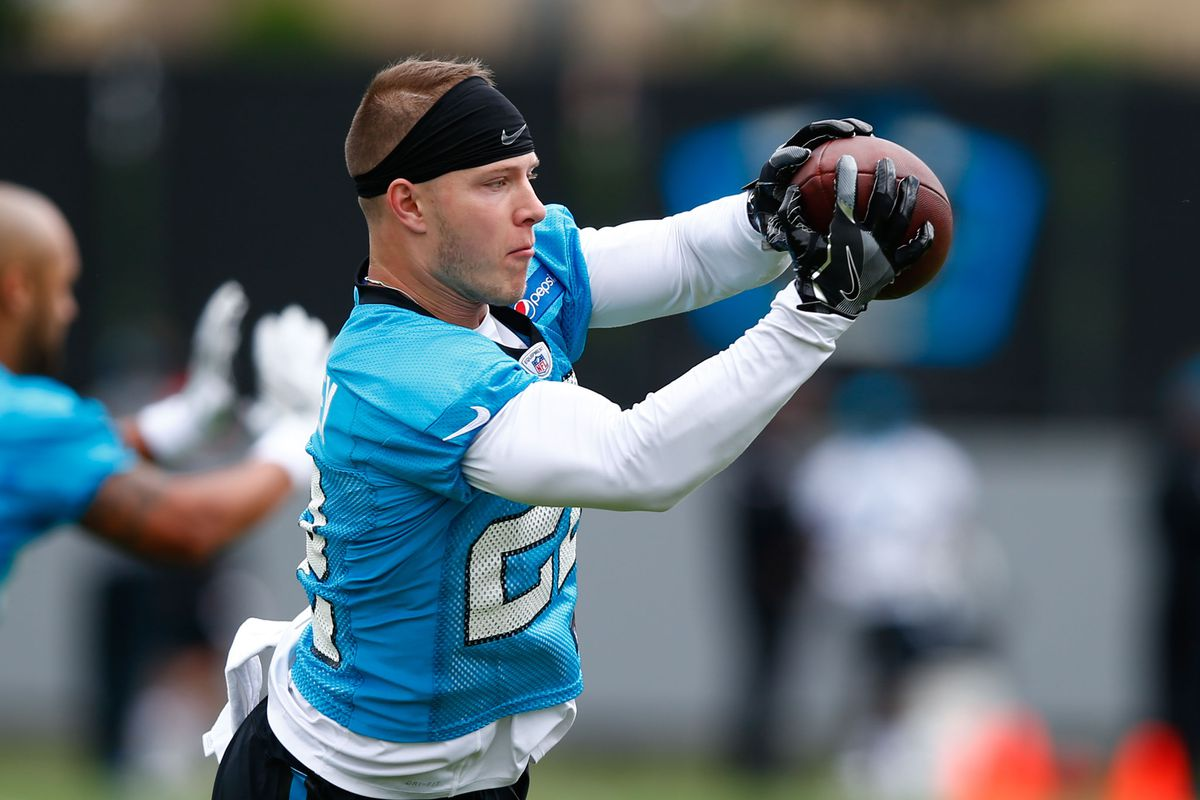Christian McCaffrey signs with Panthers