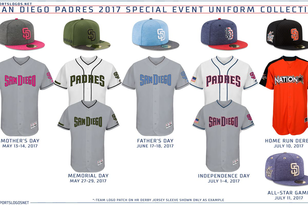 Mets' special event uniforms have been announced