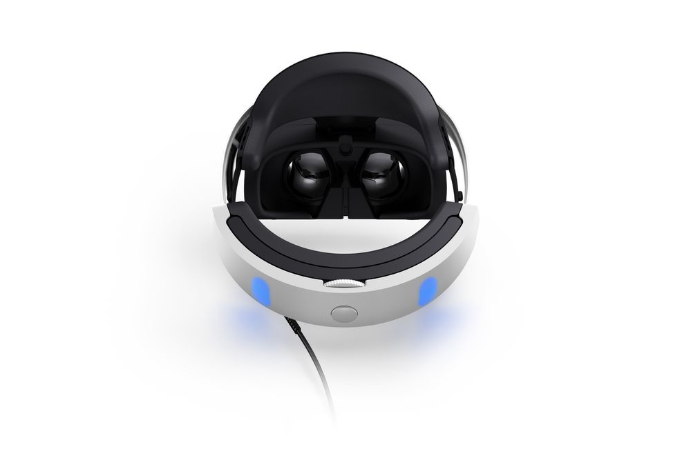 PlayStation VR headset back