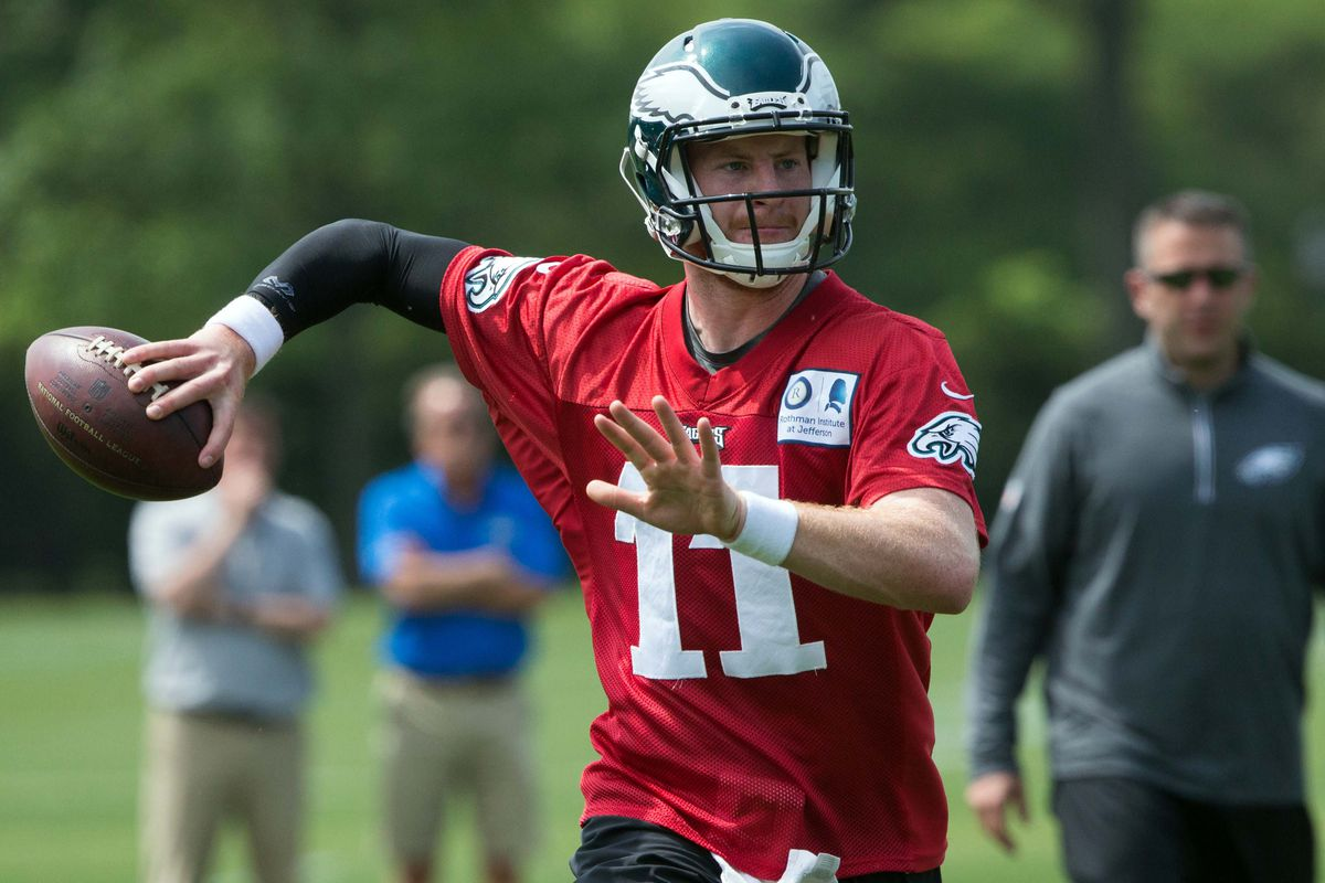 McFeely: Carson Wentz 'rejuvenated' as year two begins, Eagles head coach says