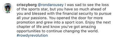 community news, Midnight Mania! Conor McGregor worried about brain trauma, Ronda Rousey returns to Instagram