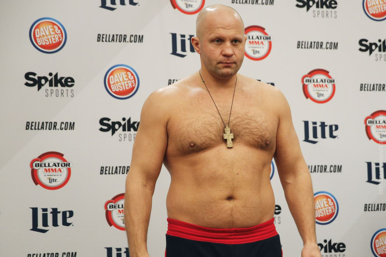 Pros react to the cancellation of Fedor Emelianenko vs. Matt Mitrione at Bellator 172