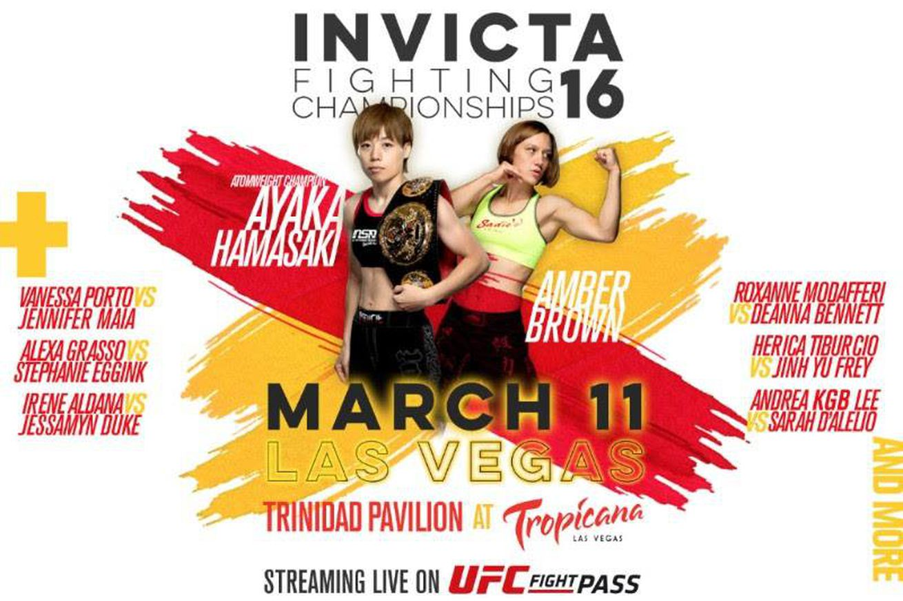 community news, Invicta 16 stream on UFC Fight Pass set for March 11 in Las Vegas