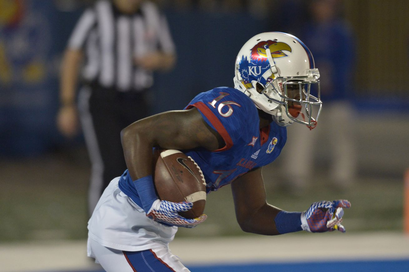 KU football dominates Rhode Island, Jayhawks win season-opener