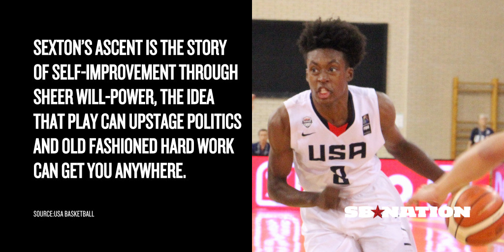 How Collin Sexton went from unranked to a 5-star basketball recruit