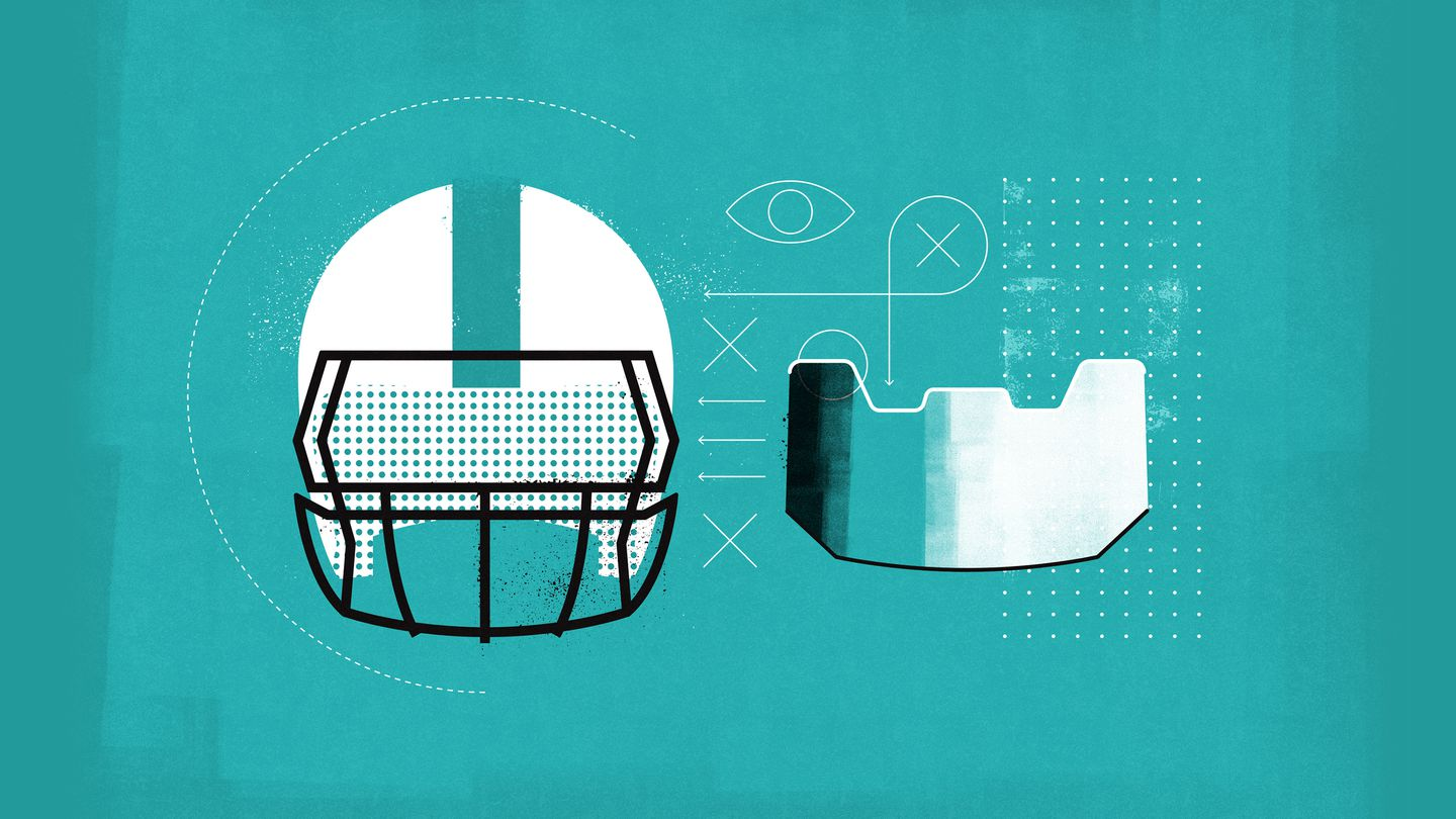 Why NFL players love the dark visor, and why its comeback