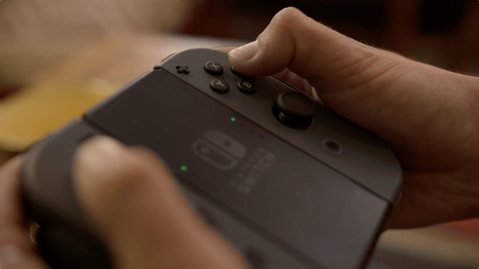 This is what the Nintendo Switch looks like