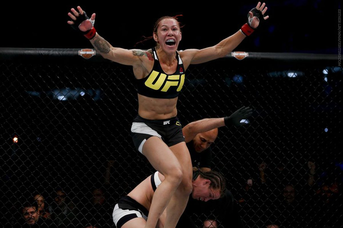 Cris Cyborg calls out Germaine de Randamie for UFC 214