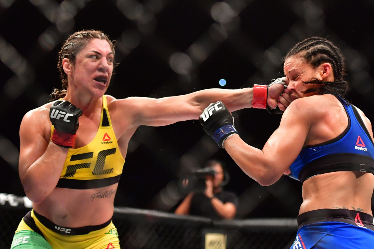 Bethe Correia: 'Overrated' Holly Holm may retire early after I knock her out in Singapore