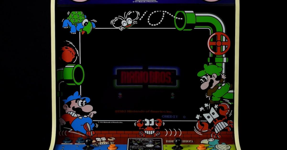 Nintendo bringing arcade classics to Switch, starting with Mario Bros.