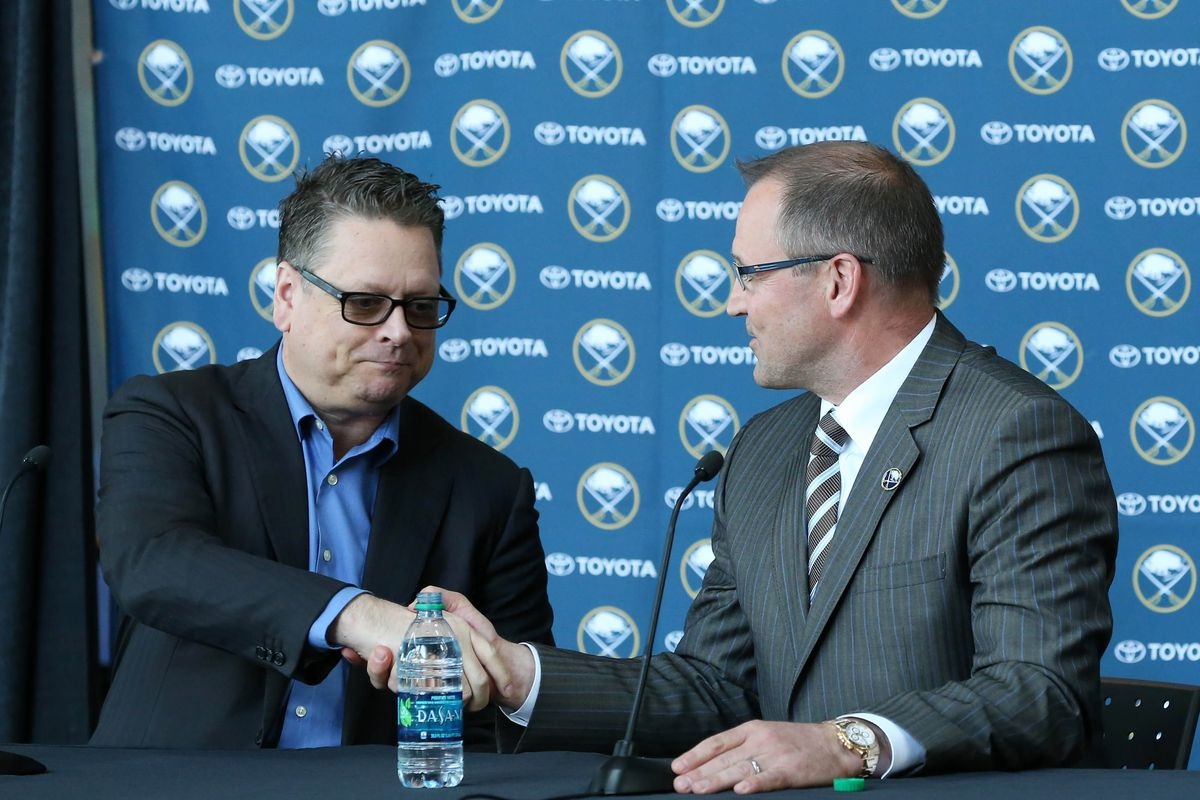 Buffalo Sabres fire GM Tim Murray and coach Dan Bylsma class=