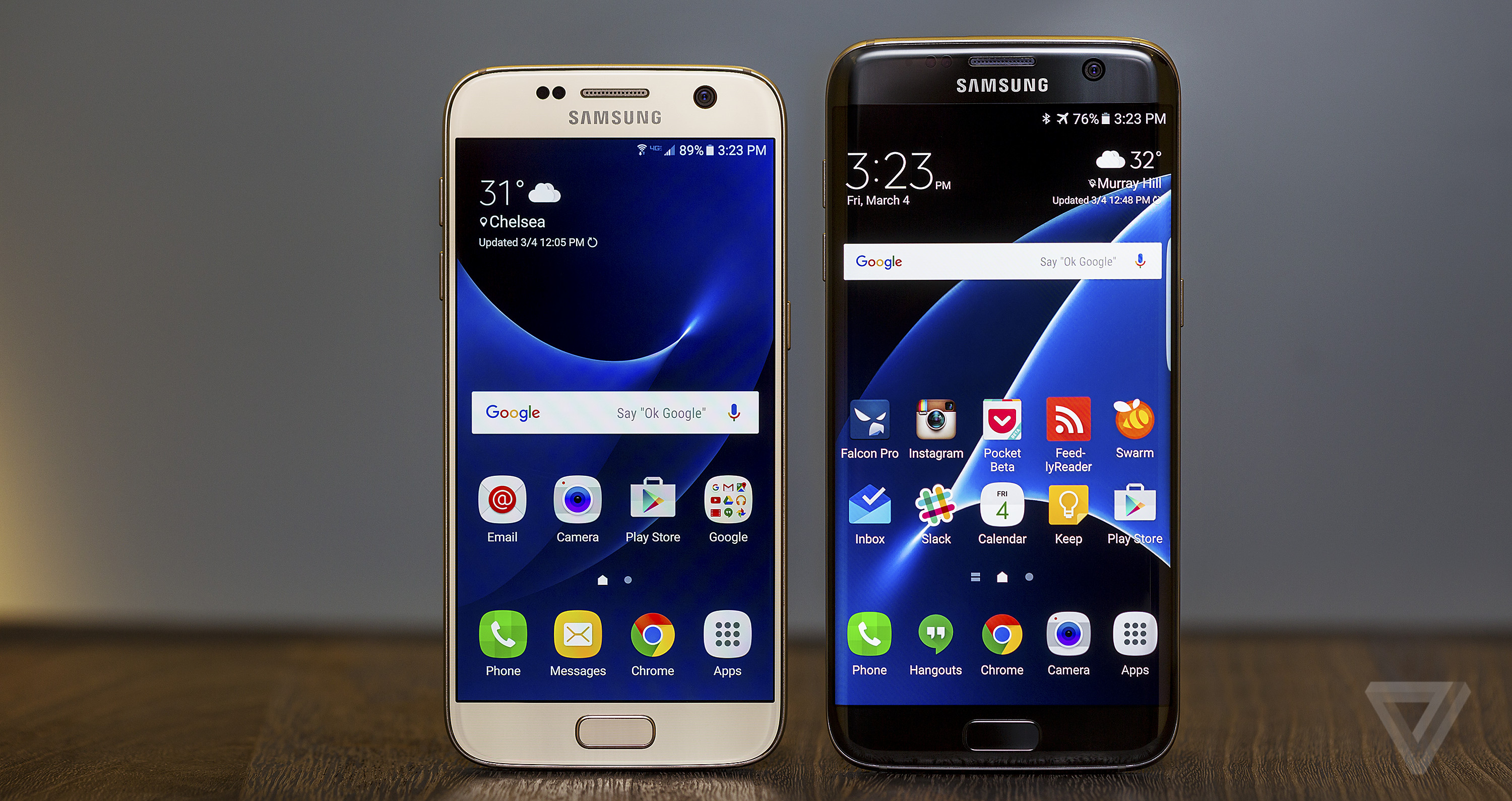 samsung galaxy s7 review on the edge of perfection the verge. Black Bedroom Furniture Sets. Home Design Ideas