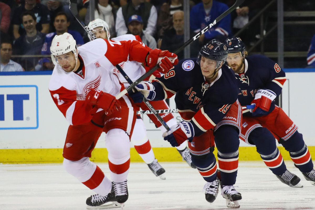 Rangers Trade For Red Wings' Defenseman Smith