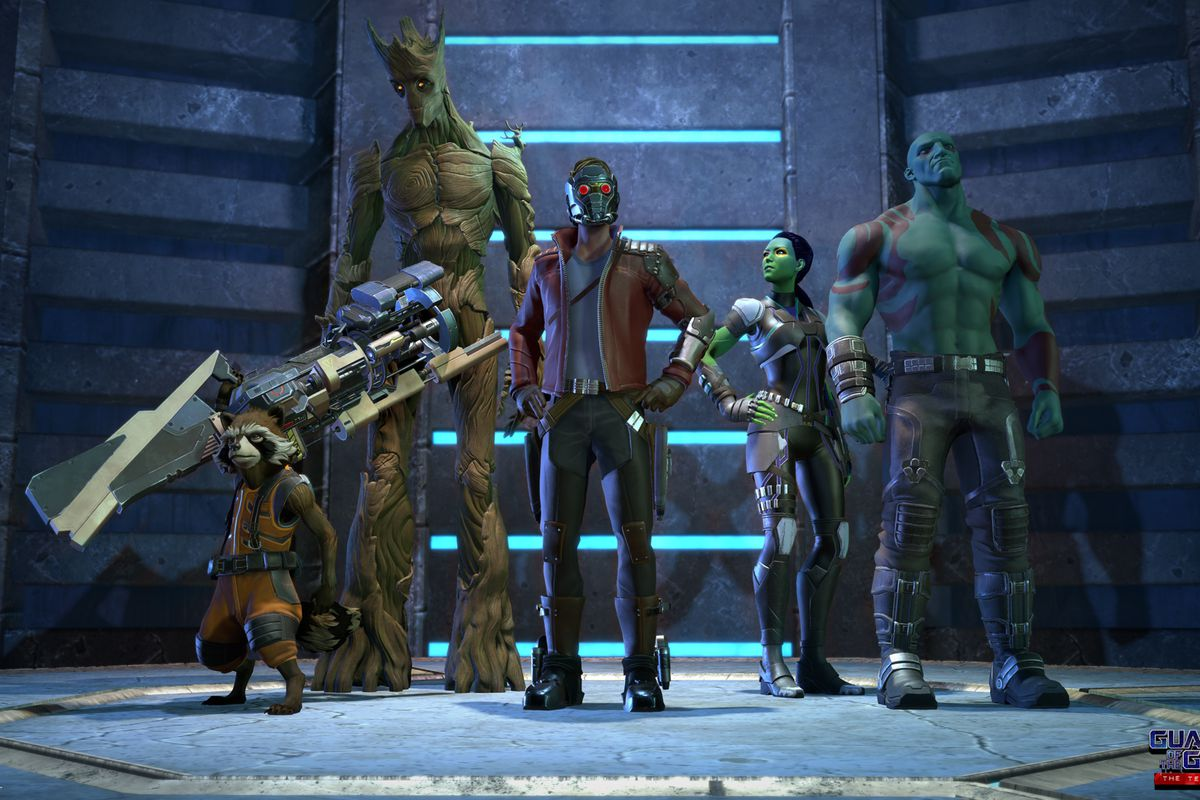 Telltale Unveils First Look At Guardians Of The Galaxy Series