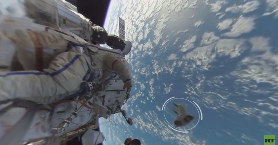 Watch the first ever 360-degree video of a spacewalk - The ...