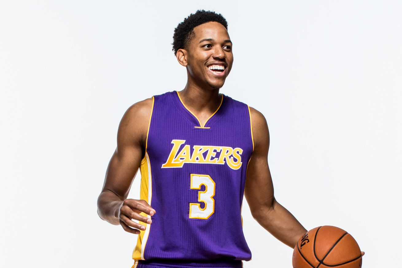 Official Nike Jerseys Cheap - Southern California native Anthony Brown has the Lakers excited ...