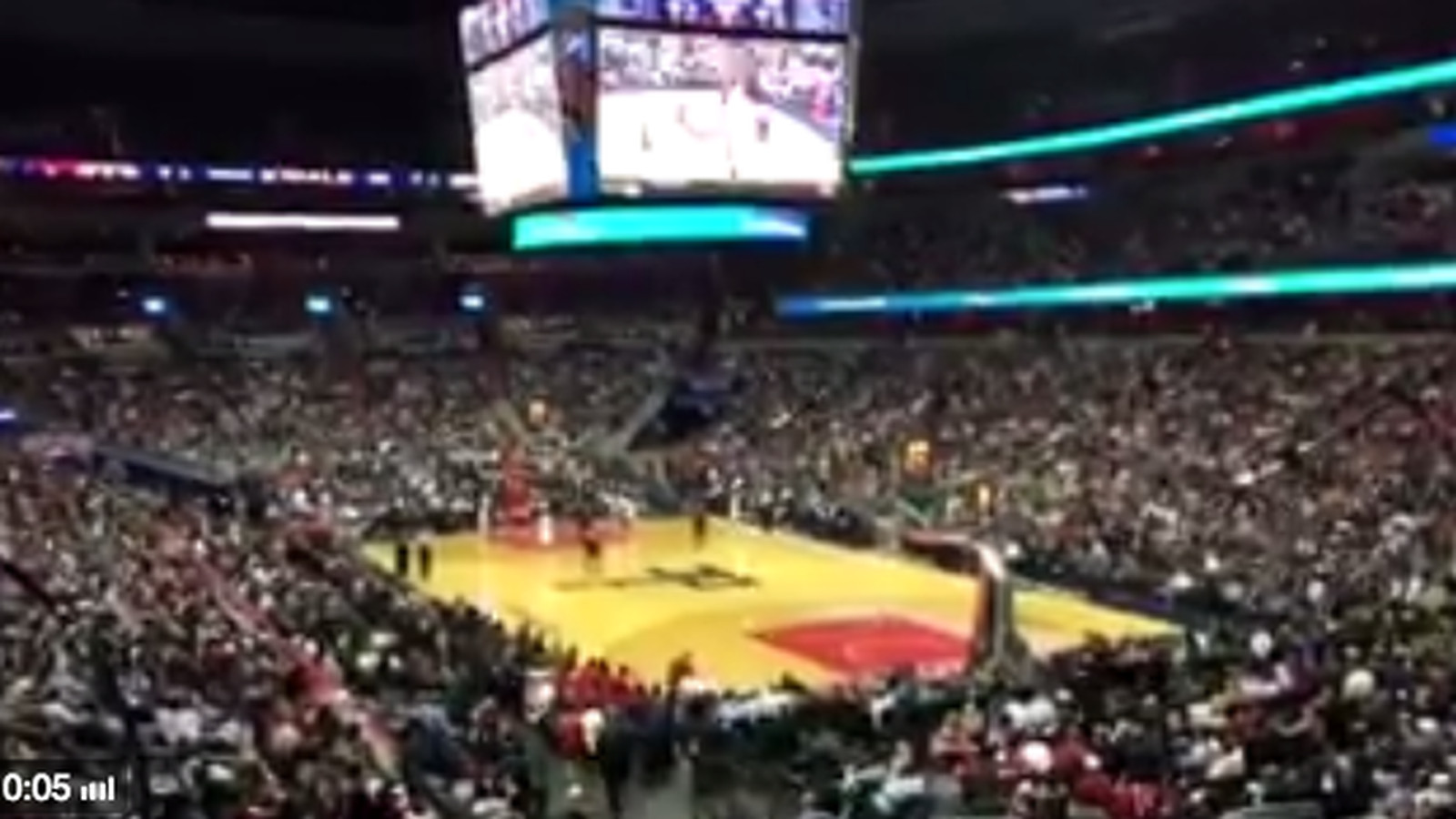 Wizards Fans Chant Refs You Suck After Constant Foul