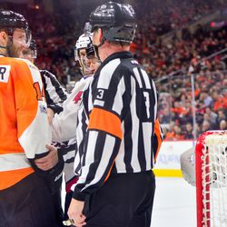 """Couturier thought bubble: """"Is this guy serious?"""""""