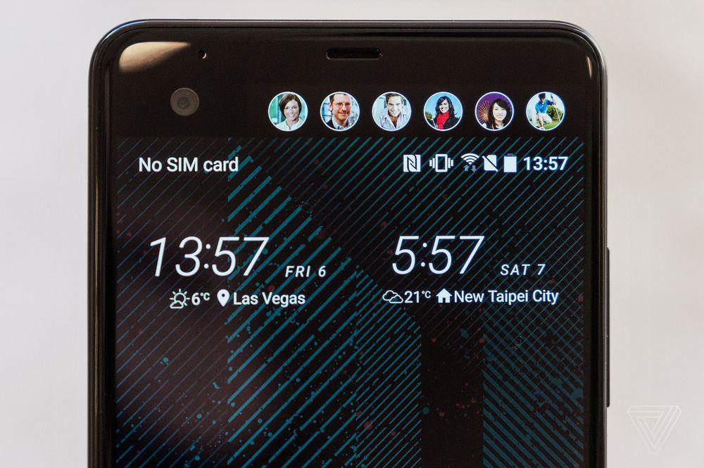 HTC U Ultra and its second screen