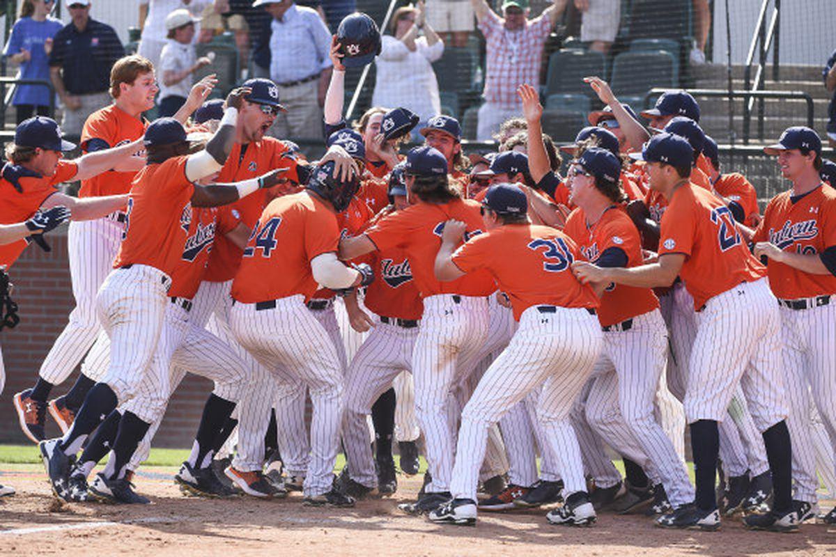 Auburn Baseball Ranked In All College Baseball Polls Top Ten In Two