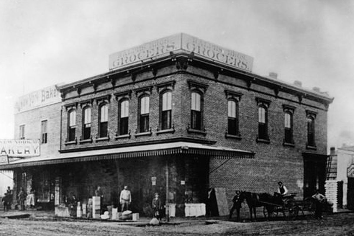 A Brief History Of Downtown La Grocery Stores 1873 To