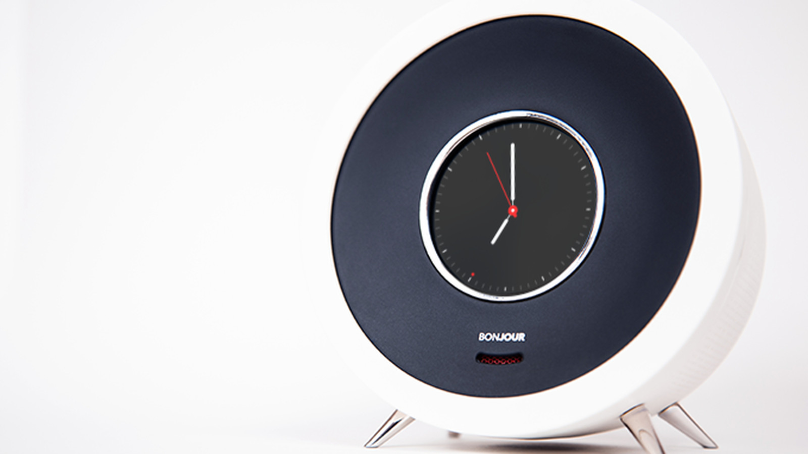 this ai powered alarm clock promises to make your life better more french the verge. Black Bedroom Furniture Sets. Home Design Ideas