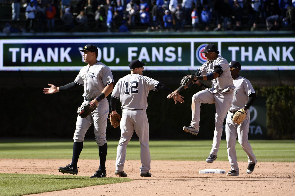 Yankees Beat Cubs 5-4 in 18 Innings