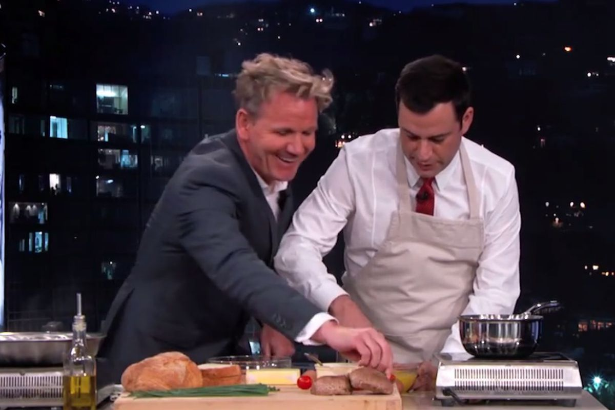 Last Night, British Chef Gordon Ramsay '� Who Is Best Known For His Love