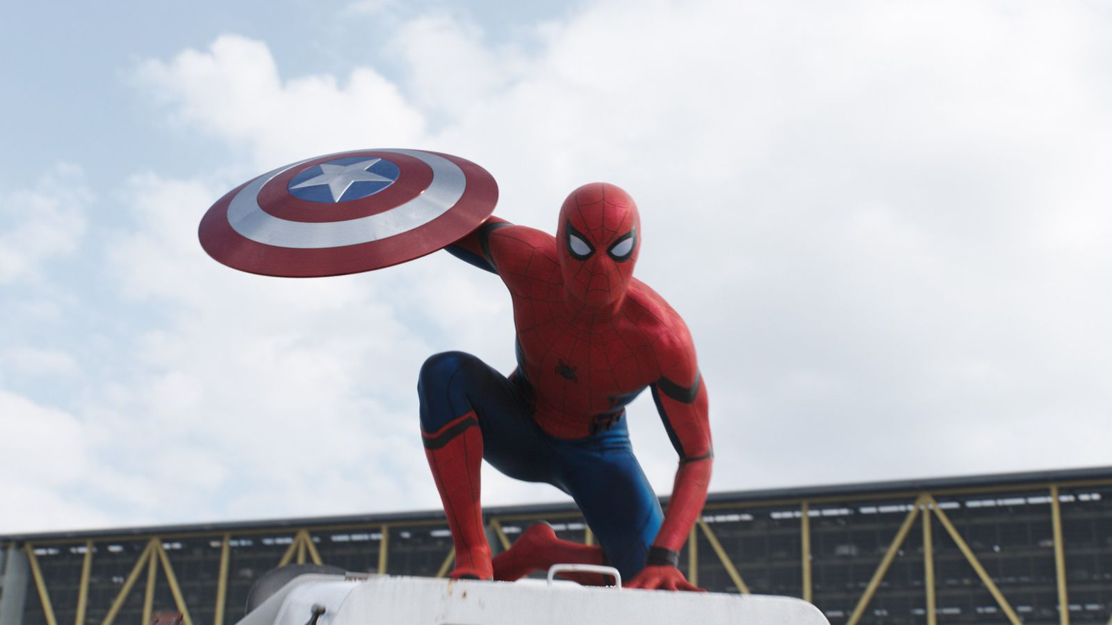 Image result for spiderman civil war