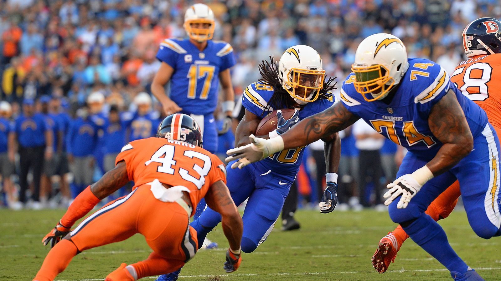 Chargers Broncos Final Score San Diego Chargers Defeat