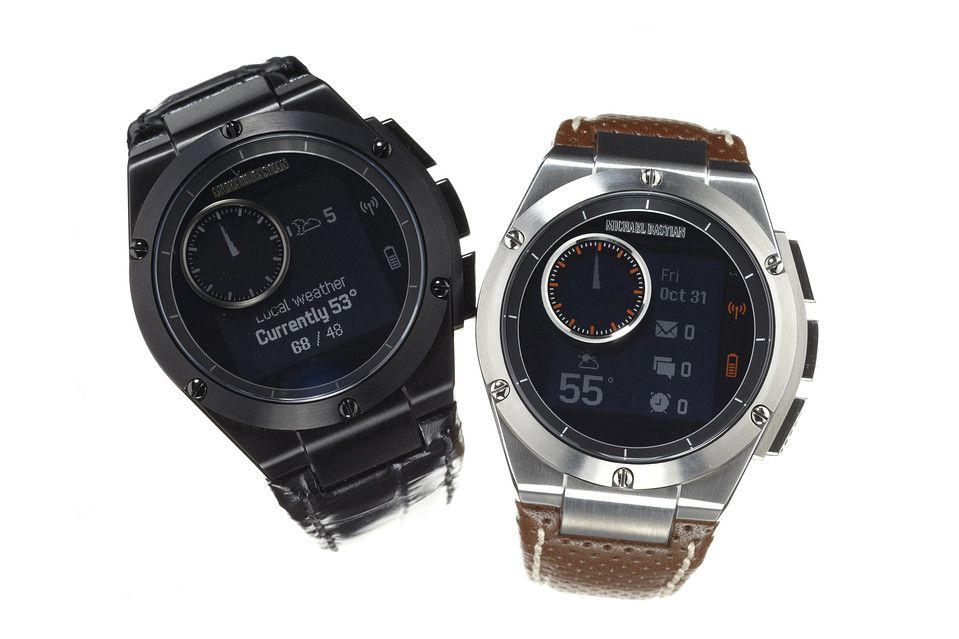Hp S Mb Chronowing Smartwatch Is More Watch Than Gadget