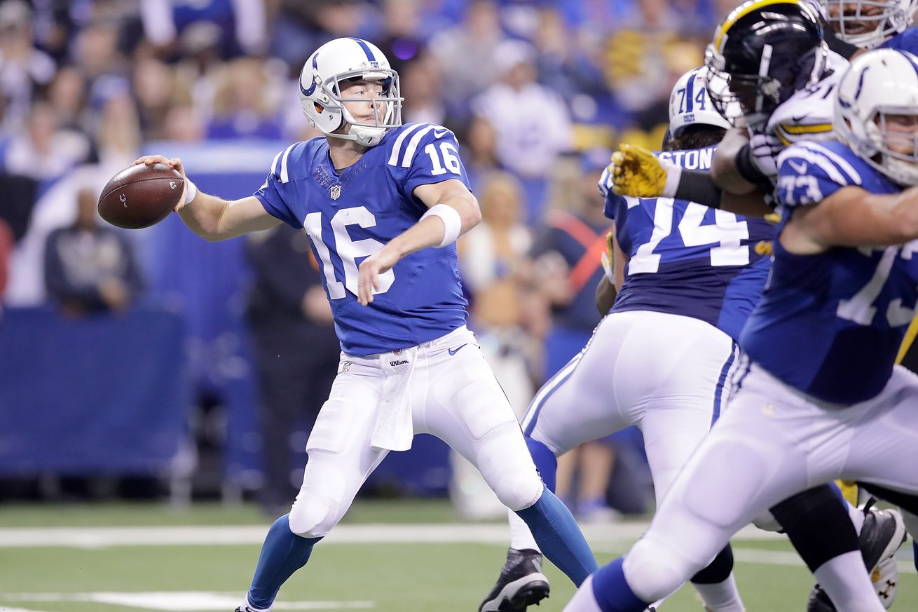 "Scott Tolzien has ""great opportunity"" to get first team reps this offseason with Andrew Luck out"