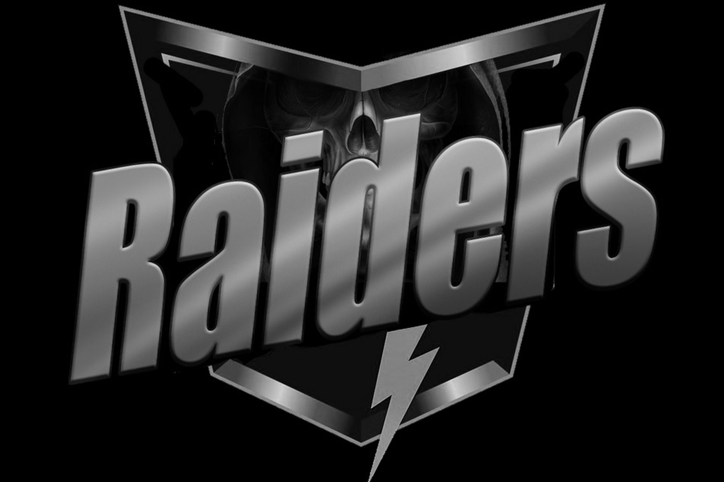 Raiders Logo Redesigned As A Corporate Company Silver