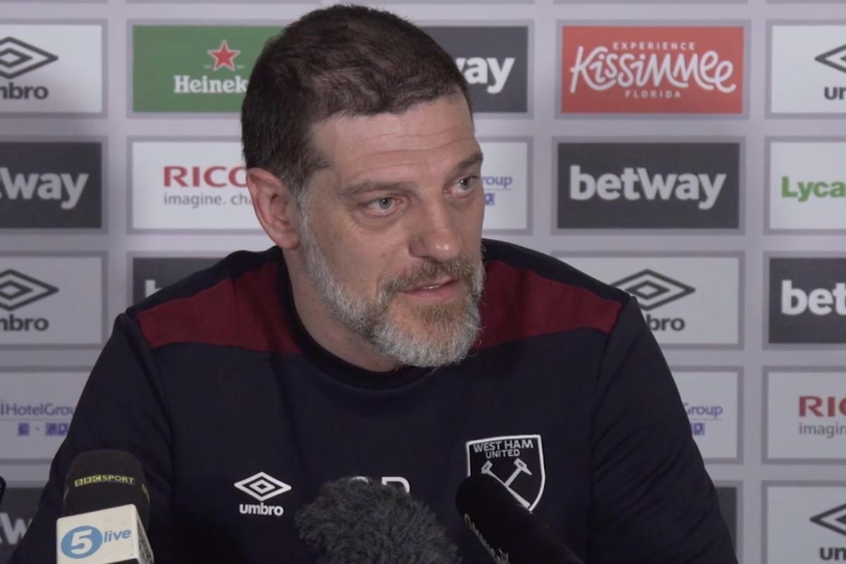 West Ham manager Bilic backs struggling Snodgrass